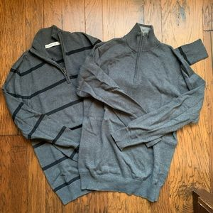 Men's Old Navy 1/4 zip sweaters